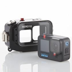 Unterwasser GoPRO Hero 10 Gehäuse | CARBONARM GoPRO Hero 10 UW Gehäuse HOU/GOPRO/H10