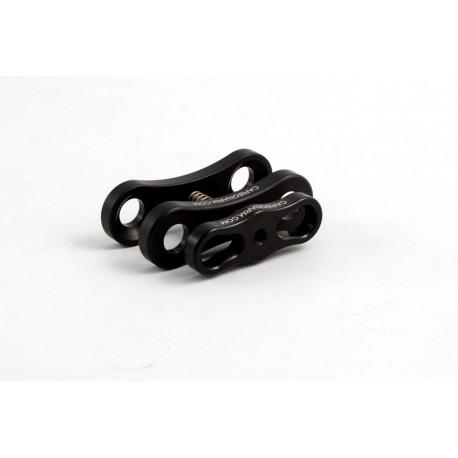 Clip Blocca Sfere Lunga alluminio uso subacqueo Carbonarm Clip Blocca Sfere Lunga CP/2L