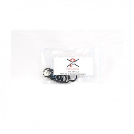 Kit de junta tórica de repuesto para brazos Carbonarm- 25 mm Kit de Juntas Tricas para Bolas ACC/OR/AR