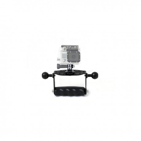 Handle Goodman with double ball and GoPRO Tripod SFF/GDM/GOPRO
