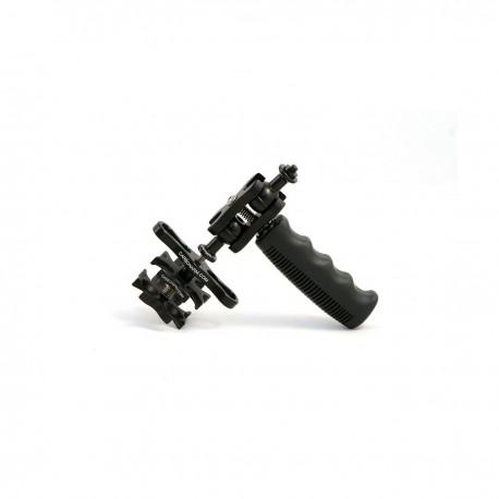 Stativkopf aus Aluminium für Unterwasserfotografie Stativ Kopf für 4 Arme CLV/TST4