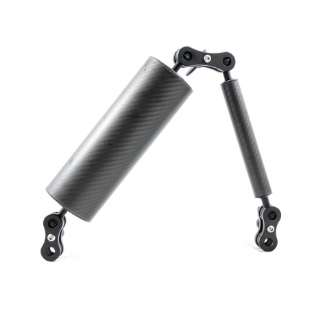 Kit de brazos para flashes – Fotografía submarina Brazo Completo Flotante Carbonarm 70/75 ARM/STD7075