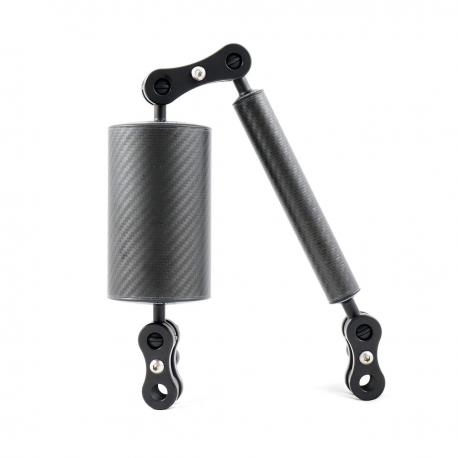 Carbon-fiber float arms kit for underwater photography Carbonarm Float 60/75 ARM/STD6075