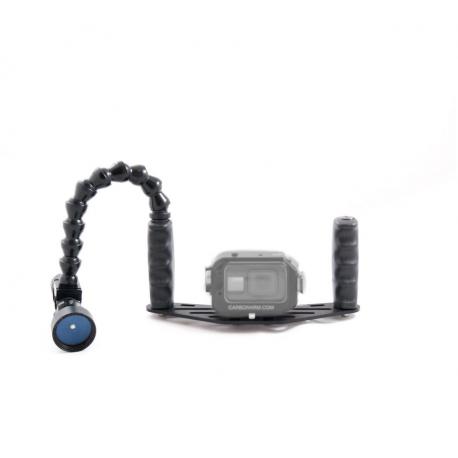 Kit Case GoPRO - Flex 1000 Lumen allumino Carbonarm Kit Case GoPRO - Flex 1000 Lumen KIT/GOPRO/CREE