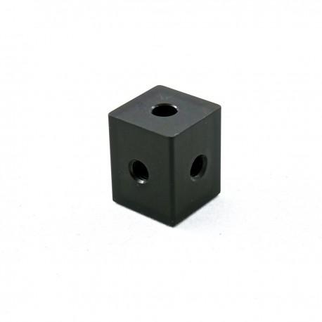 Bloc boules filetées en aluminium - Carbonarm Blocco Filettato per Sfere ACC/SF/4