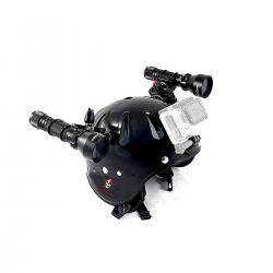 Easy Helmet Höhlenhelm für Unterwasserfotografie - Carbonarm Carbobarm Helm (komplett) HELM/FULL