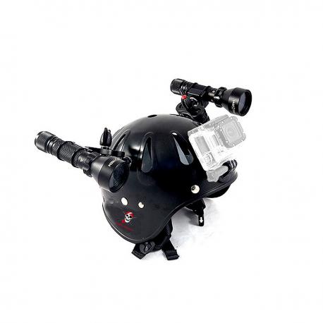 Easy Helmet Casque spéléo pour une utilisation sous-marine - Carbonarm Carbonarm Casque (complet) HELM/FULL