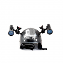 Easy Helmet Caving helmet for underwater use – Carbonarm Carbonarm Helmet (full) HELM/FULL