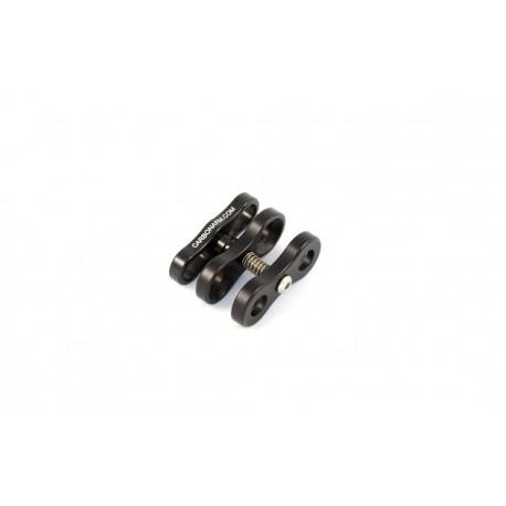 Standard Aluminiumclip für 25 mm Kugeln Standard Klammer CP/2