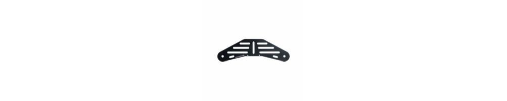 Staffe Singole  di Supporto in Alluminio per uso subacqueo